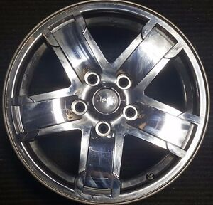 2005 2007 17 Jeep Grand Cherokee Chrome Factory Oem Wheel Rim 9054