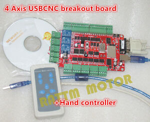 4 Axis Usbcnc Breakout Board Interface Controller hand Controller For Cnc Router