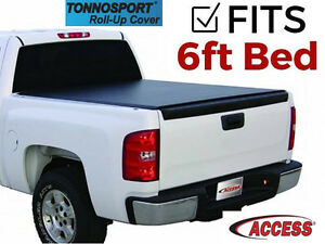 Access Tonnosport Roll Up Tonneau Cover Fits 2005 2015 Toyota Tacoma 6 Ft
