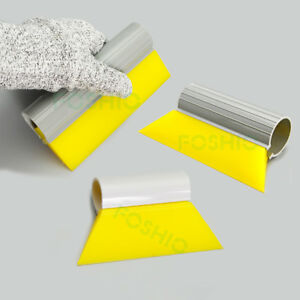3 Kind Yellow Turbo Squeegee Window Tinting Film Installation Tool Water Scraper