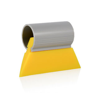 3 1 2 Yellow Turbo Squeegee Scraper For Auto Window Tint Film Water Clean