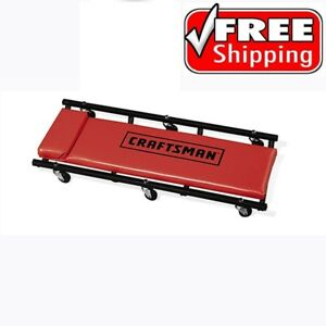 Craftsman 40 Rolling Creeper Wheels Workshop Mechanic Garage Car Auto Trucks