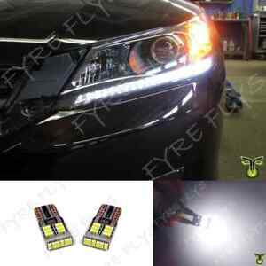 6000k Led Light Headlight Strip Bulbs Lights 2013 2014 2015 Honda Accord X7
