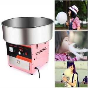 Electric Cotton Candy Machine Pink Floss Carnival Commercial Maker Party Diy