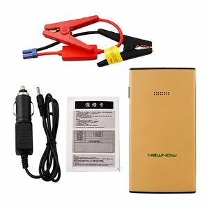 Car Battery Charger Best Auto Jump Start Power Pack Portable Recharge Cable