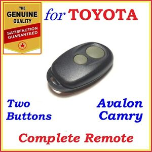 Fit Toyota Camry Avalon Complete Remote Two Buttons Year 2000 2006