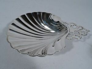 International Meriden Britannia Scallop Shell Wb141 American Sterling Silver