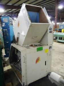 Ball And Jewell 25hp Granulator grinder With Hoppmann Feed Conveyor And Receiver