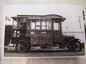 1922 Ford Model T Popcorn Truck 11 X 17 Photo Picture