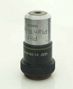 Zeiss Plan 16 0 35 Ph1 16x Phase Contrast Microscope Objective