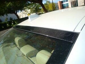 Megan Racing Real Carbon Roof Spoiler For Bmw F10 4dr 2011 Sedan 5 Series
