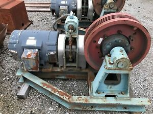 Hollister Whitney Elevator Drive System 2500llb 723