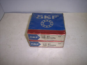 Skf 7208 Precession Angular Contact Ball Bearings matched Set class 9 Abec 9