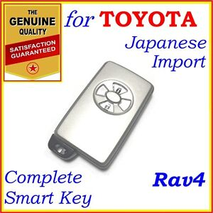 Fit Toyota Smart Key Rav4 Two Buttons Japanese Imports