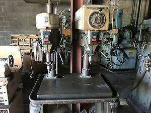 Rockwell Delta Dual Spindle Drill Press