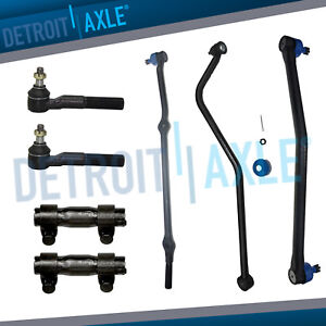 Brand New 7pc Complete Front Suspension Kit For Jeep Grand Cherokee 5 2l V8