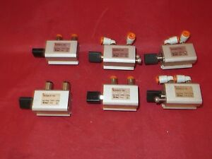 Smc Pneumatic Cylinder Ncdq2a12 10d lot Of 6
