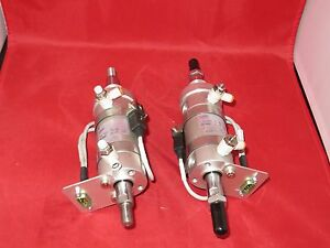 Smc Pneumatic Cylinder Us30387 lot Of 2