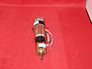 Faulhaber Motor 3557l0016 With Gearhead 321 29 1 And Inertia Brake
