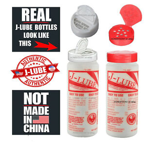 J lube Real Jlube Powder Lubricant Made In Usa Read Before Buying Red Cap