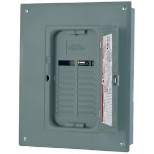 Square D By Schneider Electric Qo Plug on Neutral 125 Amp Main Lugs 24 space 24