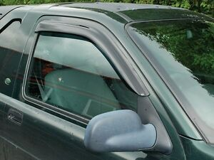 Land Rover Freelander 1 1999 2002 2 Door Model Front Wind Deflector Set Of 2