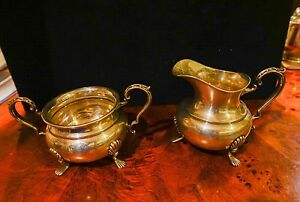 Fisher Sterling Silver Cream And Sugar Set 760