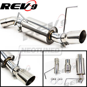 Rev9 Cb 1021 For Mustang 05 10 V6 2 5 Single Axle Back Flowmaxx Exhaust System