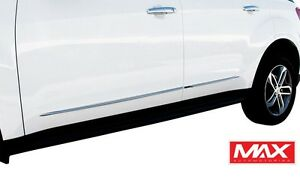 Bs3831 2012 2017 Toyota Prius V Chrome Streamline Side Door Body Molding Trim