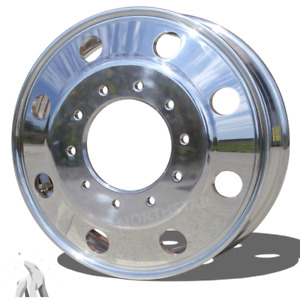 Northstar 19 5x6 10 Lug Dodge Ram 4500 5500 alcoa Style Polish Both Side
