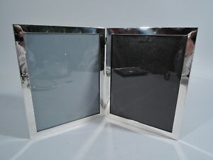 Raimond Frame Picture Photo Double Diptych Cartier American Sterling Silver