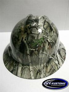 Next G2 Camo Pattern Full Brim New Custom Msa V Gard Full Brim Hard Hat
