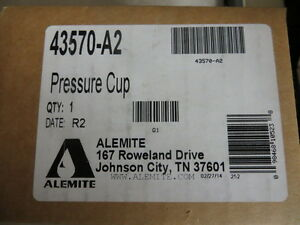Alemite 43570 a2 Automatic Grease Pressure Cup New
