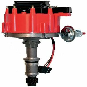 Proform 67088 Vacuum Advance Hei Distributor Coil Red Cap For Buick 215 350