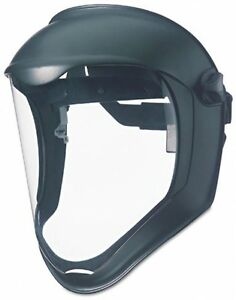 Face Protection Shield Sparks Safety Tool Helmet Face Mask Headgear Clear