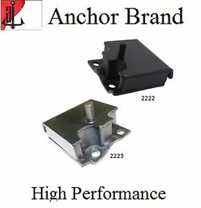 2 Pcs Front Left Right Motor Mount For 1958 1964 Ford Country Squire 5 8l