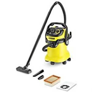 Karcher Wd5 p Multi purpose Wet Dry Vacuum Cleaner With Semi automatic Filter Cl