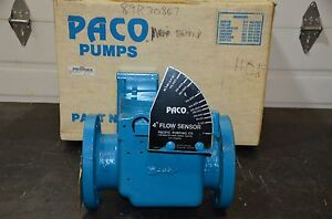 Paco 4 Mass Flow Sensor Meter 4r 4sw125 Stock 52061733 Right Hand 9 Flange