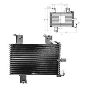 New External Transmission Oil Cooler For 2005 2006 2007 Nissan Pathfinder