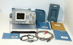 Tektronix 492p Opt 1 2 3 Programmable Spectrum Analyzer Accessories Manuals