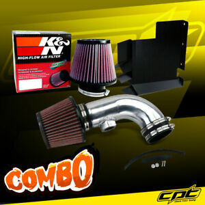 07 12 Bmw 328i E90 E92 E93 3 0l 6cyl Polish Cold Air Intake K N Air Filter