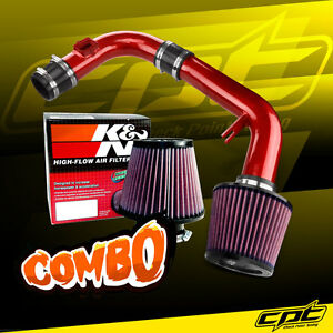 11 15 Chevy Cruze Non Turbo 1 8l 4cyl Red Cold Air Intake K N Air Filter