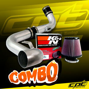 For 06 09 Vw Golf Gti Turbo 2 0t Fsi Polish Cold Air Intake K N Air Filter
