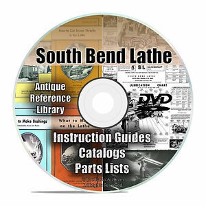 South Bend Lathe Reference Library Parts List Automechanic Shop Manuals Cd V26