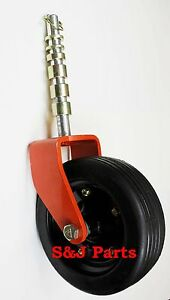 Complete Befco Finishing grooming Mower Wheel Assembly 0006946 0006956