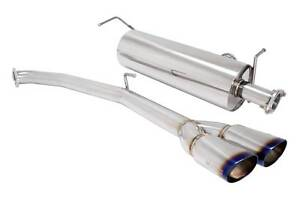 Megan Racing Axle Back Exhaust 2 5 Dual Burnt Tips For 11 Toyota Sienna Se