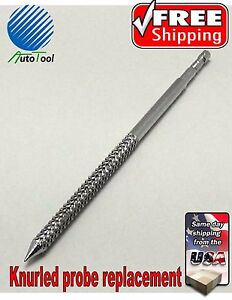 Professional Tire Plug Knurled Probe Replacement Repair Kit Heavy Duty 5 Long
