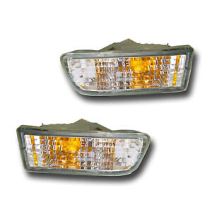 Fits 1999 2002 Toyota 4runner Driver Passenger Turn Signal Light Assembly 1 Pair