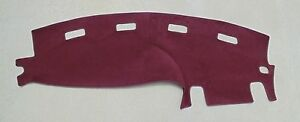 1998 2001 Dodge Ram 1500 2500 Truck Dash Cover Mat Burgundy Maroon