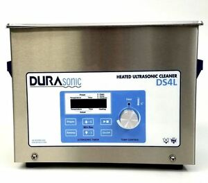 New Durasonic 4 Liter 1 Gallon Digital Ultrasonic Cleaner With Basket